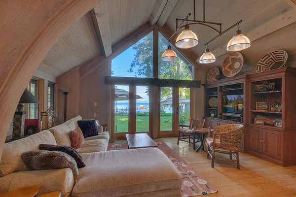 Lounge Away - Inside Mark Zuckerberg's $59 Million Lake Tahoe Compound - Lonny