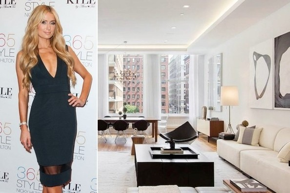 Paris Hilton's Manhattan Penthouse