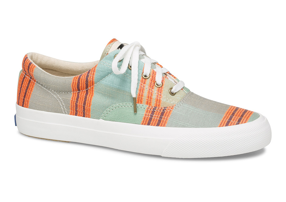 Keds Collaborates With Textile Brand Ace & Jig For An Eco-Friendly Shoe