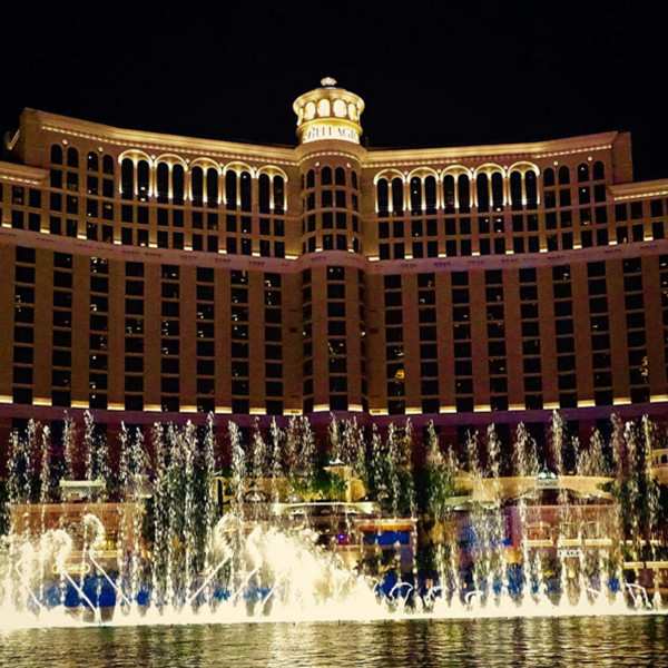 Las Vegas's Bellagio Fountain