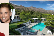 Tour Rob Lowe's Jaw-Dropping $47 Million Montecito Mansion