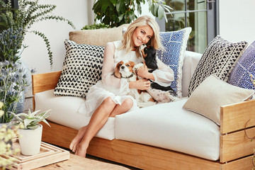 Julianne Hough Gives Her Outdoor Space a Chic Makeover