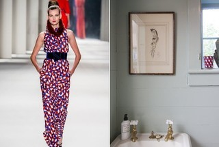 Runway to Room: Incorporating Fashion At Home