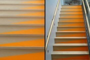 DIY Colorblock Stair Risers