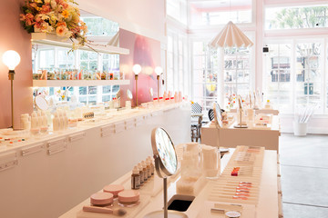 Glossier's Next Take Over Is At A Café – With Fried Chicken