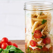 Upgrade: Mason Jar Pesto Pasta