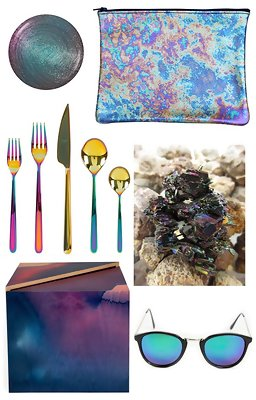 Trend We Love: Oil Slick Colors