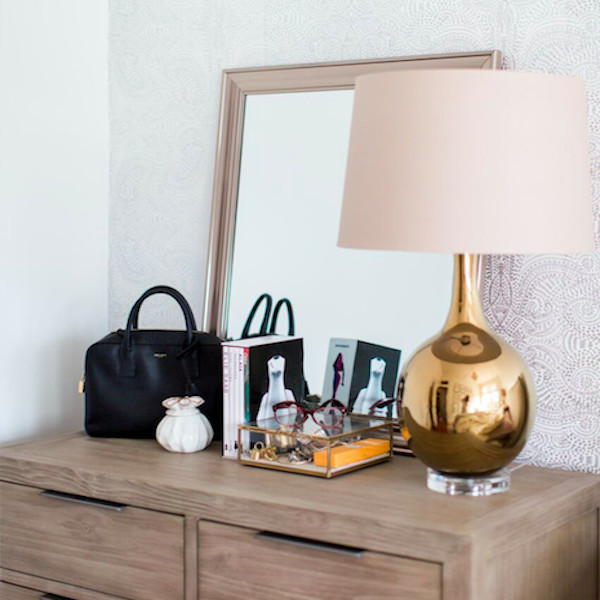 How To Decorate Your Dresser For A Bedroom Update On The Cheap