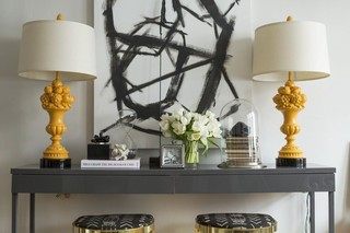 Color Palette We Love: Black, Gray, and Yellow