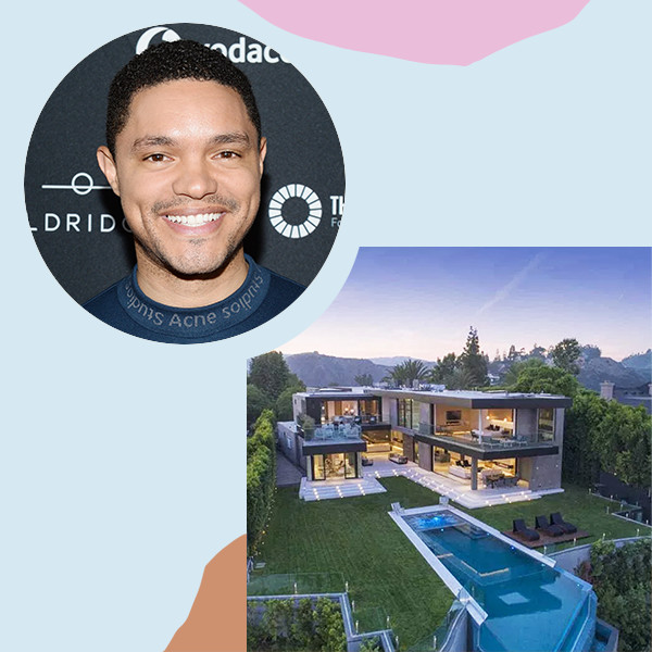 Trevor Noah Drops $20.5 Million On A Bel Air Bachelor Pad