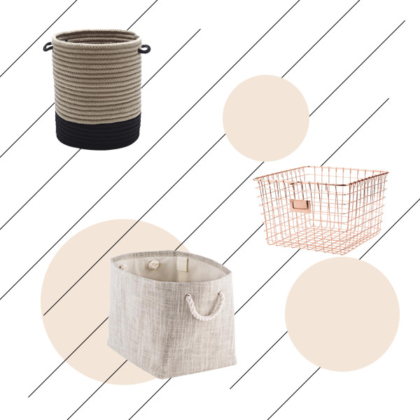 15 Storage Baskets To Hide All Your Junk