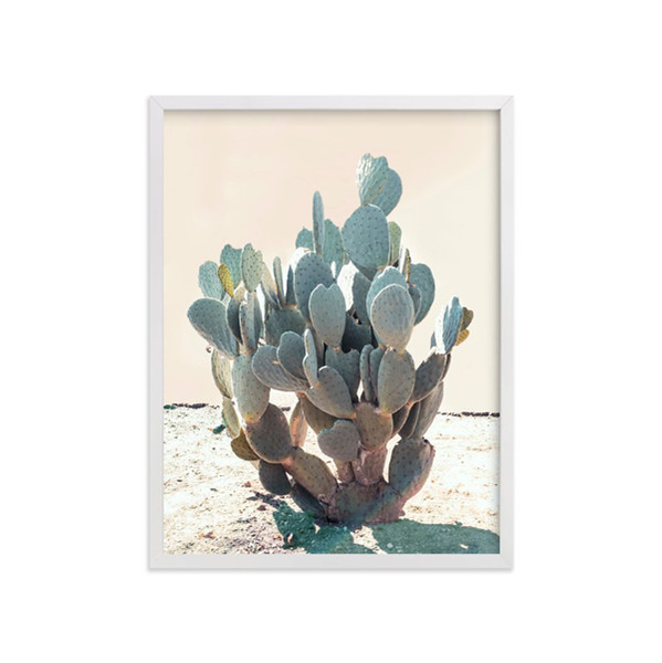 Minted Wilder Cactus Wall Print