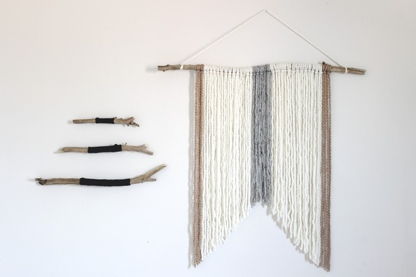 D.I.Y. Wall Hanging Inspired by Nature