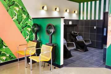 Top Hair Salons With The Coolest Interiors