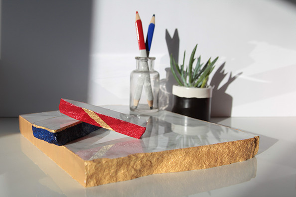 How To Make Decorative Marble Paperweights
