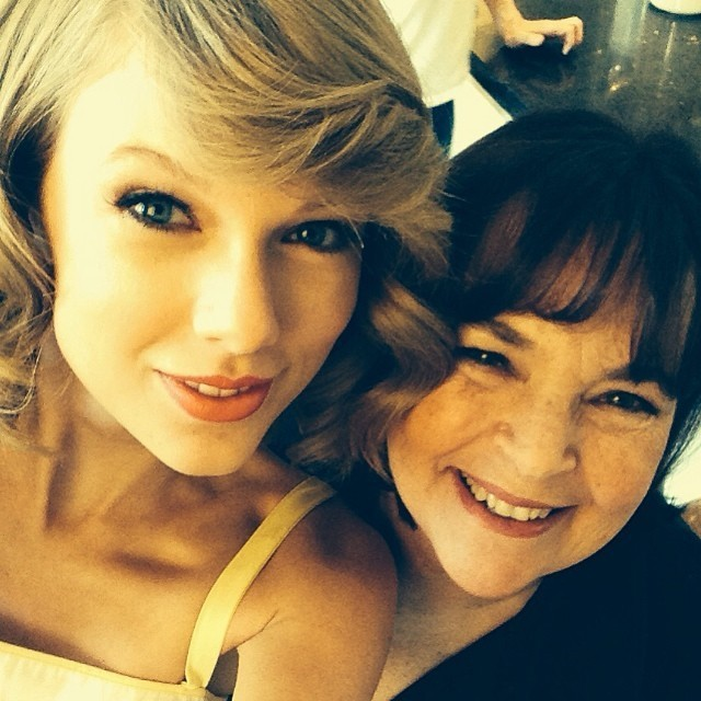 Taylor Swift and Ina Garten | Lonny.com