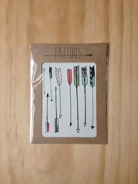Arrow Tattoos by Hartland Brooklyn