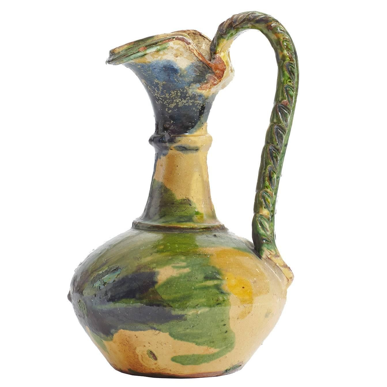 Handmade Antique Ceramic Water Carafe, Typical of the Calabria Region in Italy, $282.51; 1stdibs.
