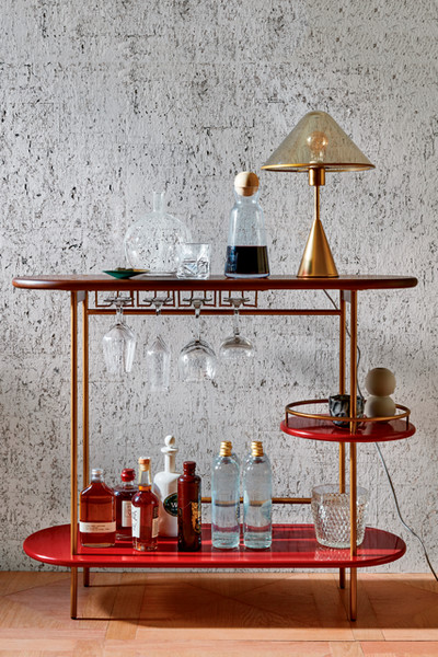 Conceptual Bar Cart