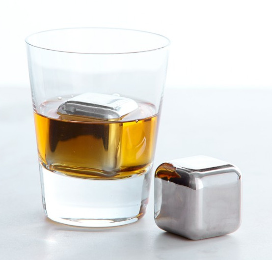 Stainless-Steel Whiskey Cube Set by Williams Sonoma