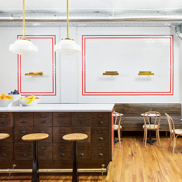 Inside Resy's Vintage Restaurant-Inspired NYC Office