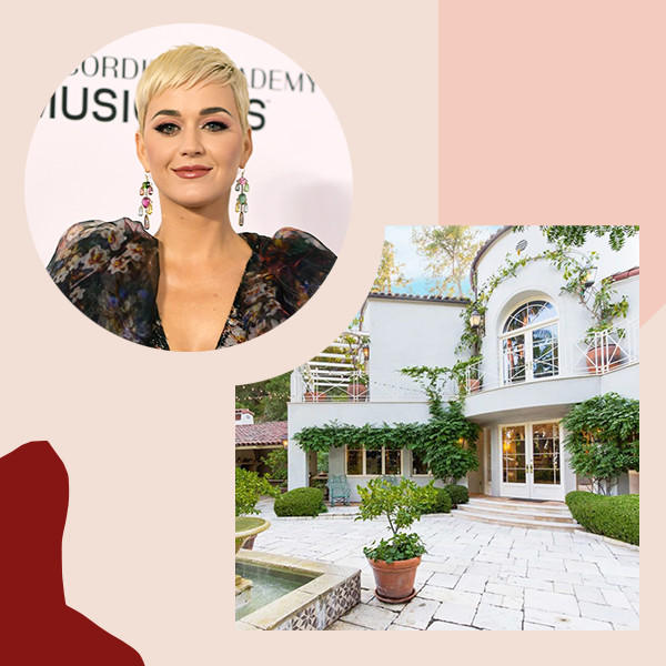 Inside Katy Perry's $9.4 Million Palatial Hollywood Hills Home