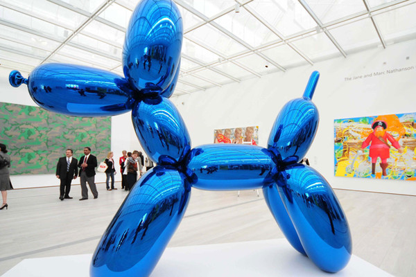 Jeff Koons Dog