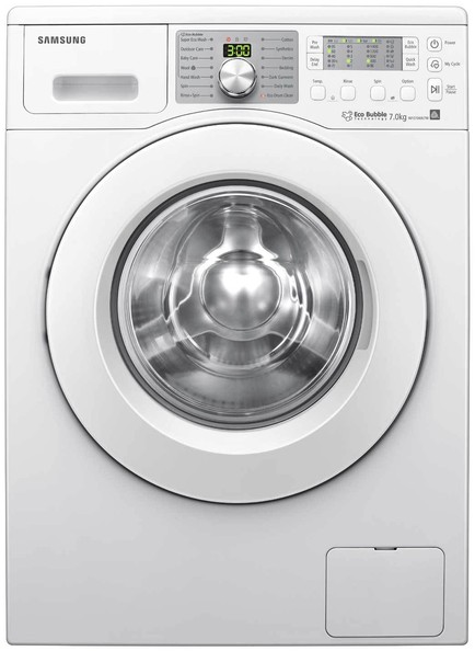 samsung eco bubble washer 10 smart home appliances lonny. Black Bedroom Furniture Sets. Home Design Ideas