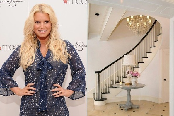Jessica Simpson's Hidden Valley Home