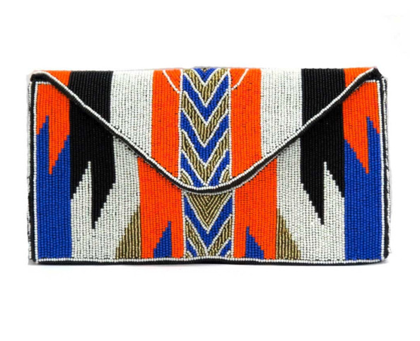 The Beaded Clutch