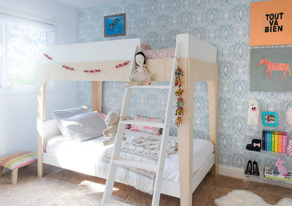 We love that the girls share a room — what's that like?