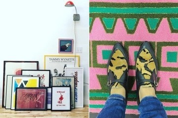 Leaning and Layered Art, How to Impress Your Holiday Guests, and a Groovy Aussie Hotel