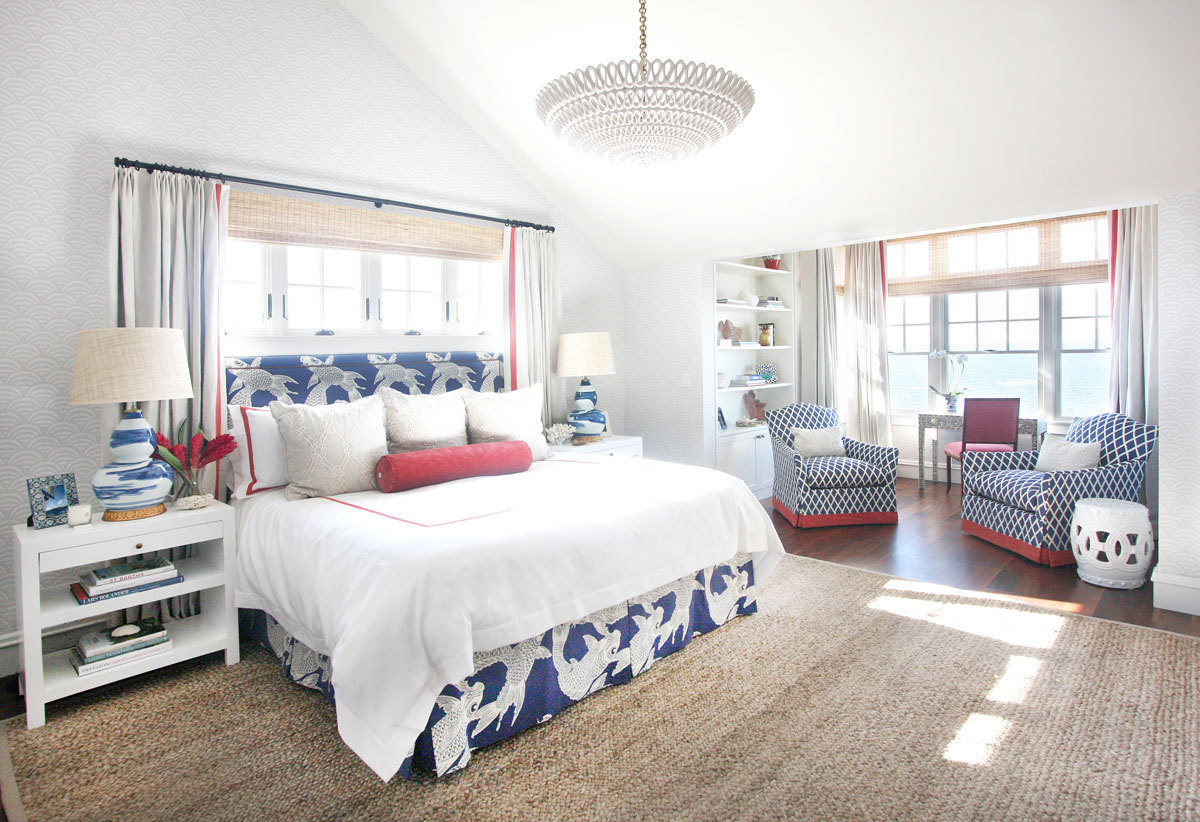 The perfect summer beach house home tour lonny Beach house master bedroom ideas