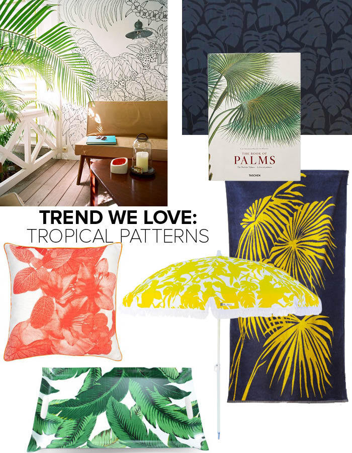Trend: Tropical Patterns