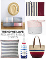 Trend: Red, White and Blue Stripes