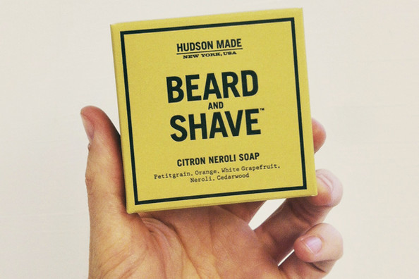 Beard and Shave Soap by Hudson Made