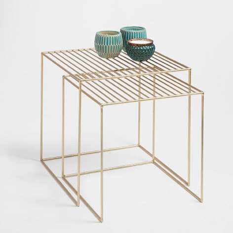 Metal Nested Tables
