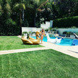 Sofia Vergara's Pool Float Paradise