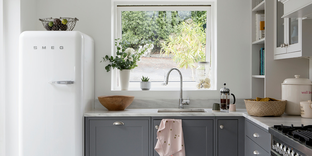 Here S What You Need To Know Before Painting Those Kitchen Cabinets Lonny