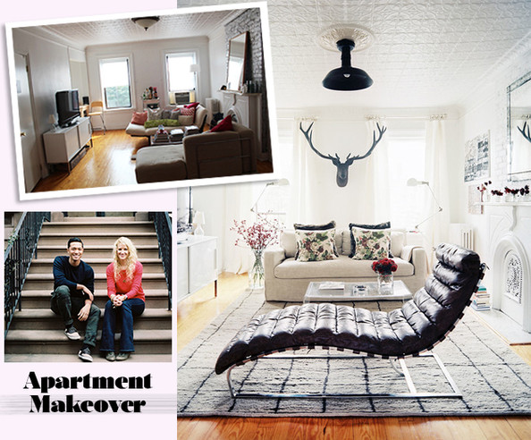 Apartment makeover how to maximize your small space lonny Maximize a small bedroom