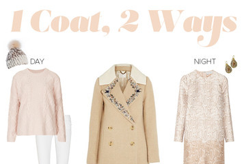 A Luxurious Winter Coat, Two Ways