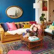 This Flower-Filled Oakland Apartment Is A Nod To Art Deco