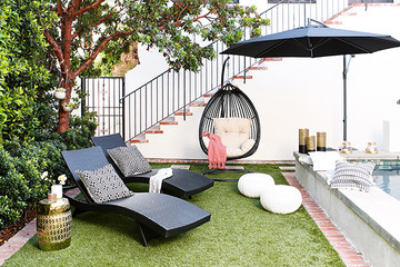 You're Going To Want To Steal Shay Mitchell's Backyard Decor