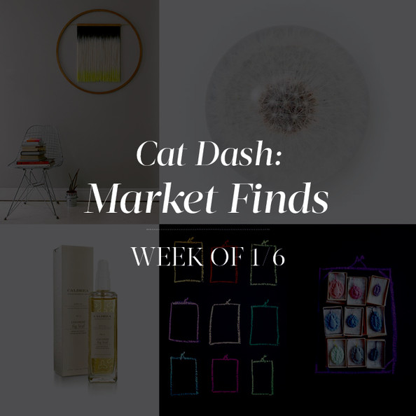 Market Finds: Week of January 6th