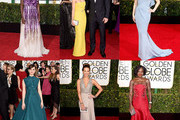 Paint Color Choices Inspired by Golden Globes Best Dressed
