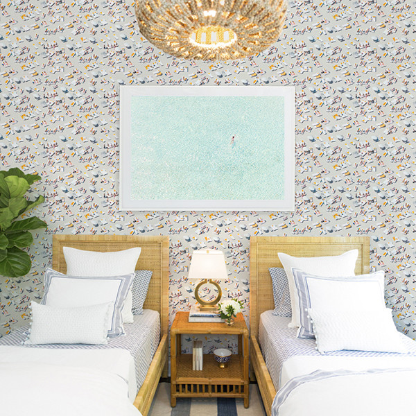 Gray Malin Wallpaper Is What Your Cali-Cool Home Needs