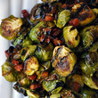 Roasted Brussels Sprouts with Pancetta and Balsamic