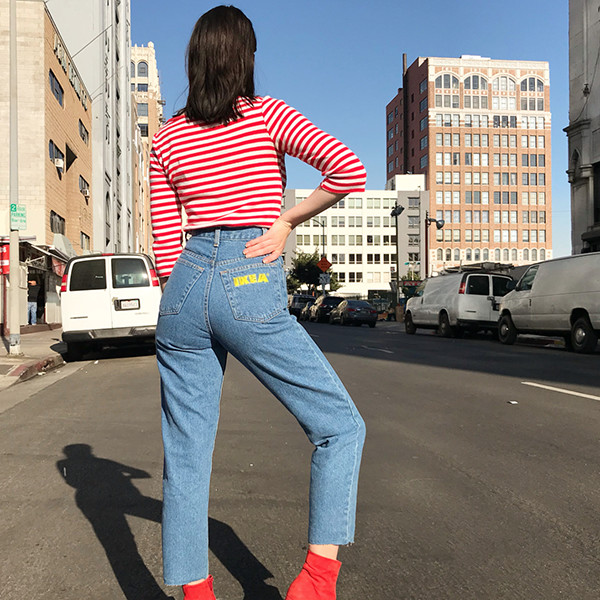 The Vintage IKEA Jeans We Need In Our Lives