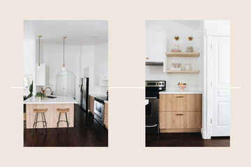 This Gorgeous Kitchen Reno Includes Some Seriously Cool IKEA Hacks