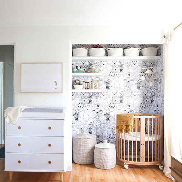 How To Create A Tiny Nursery In Master Bedroom